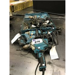LOT OF MAKITA POWER TOOLS
