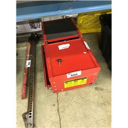 RED SLIDING TOP TOOL BOX