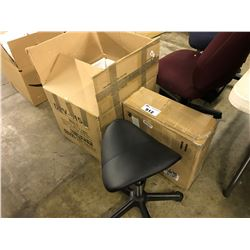 3 ASSORTED STOOLS/CHAIRS