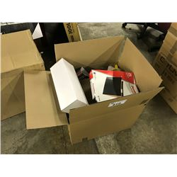 BOX OF STATIONERY AND MORE
