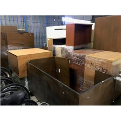 6 PALLETS OF MISC. OFFICE FURNITURE (MUST TAKE ALL)