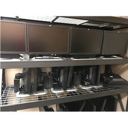 LOT OF 44 20'' HP FLATSCREEN MONITORS