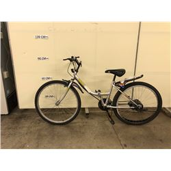 SILVER TASMAN FOLDING BIKE