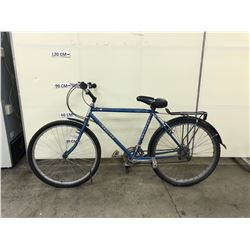 BLUE RALEIGH ROCKY III 15 SPEED MOUNTAIN BIKE