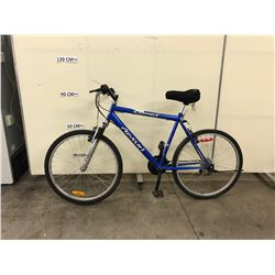 BLUE ARASHI COMET 18 SPEED FRONT SUSPENSION MOUNTAIN BIKE