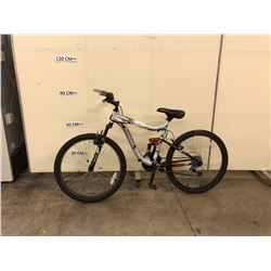 GREY MONGOOSE LEDGE 2.1 21 SPEED FRONT SUSPENSION MOUNTAIN BIKE