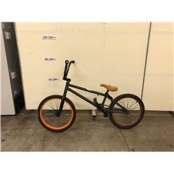 GREY NO NAME BMX BIKE