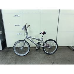 SILVER NO NAME BMX BIKE