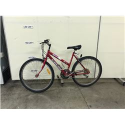 RED RAND EQUALIZER 15 SPEED MOUNTAIN BIKE