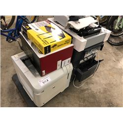 LOT OF ASSORTED PRINTERS, TONER AND MORE