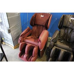OX BLOOD BEST MASSAGE BM -EC77 ZERO GRAVITY FULL BODY MASSAGE CHAIR - COSMETIC TEARS/SCRATCHES
