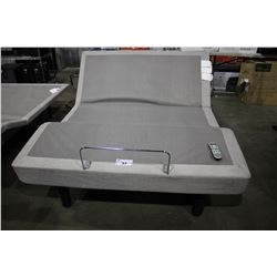 QUEEN SIZED TEMPUR-PEDIC TEMPUR-ERGO PREMIER ELECTRIC ADJUSTABLE/MASSAGING BED WITH WIRELESS