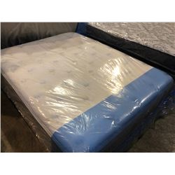 QUEEN SIZED SERTA PILLOWTOP MATTRESS WITH BOX SPRING