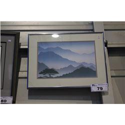 FRAMED ARTWORK - SUNRISE VALLEY