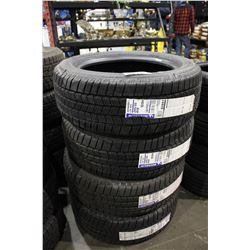 SET OF FOUR MICHELIN DEFENDERS LTX 245/55 R19 M+S TIRES