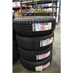 SET OF FOUR HANKOOK WINTER I-PIKE RS V 205/55R16 91T TIRES