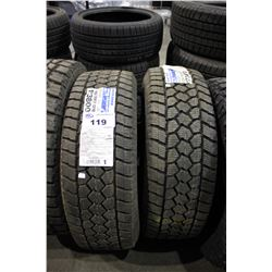 PAIR OF TOYO TIRES OPEN COUNTRY WLT1 LT265/70R17 121Q TIRES