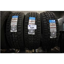 SET OF THREE HERCULES AVALANCHE RT 205/55R16 94H XL TIRES