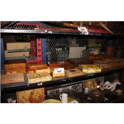 LARGE COLLECTION OF CIGAR BOXES AND MORE