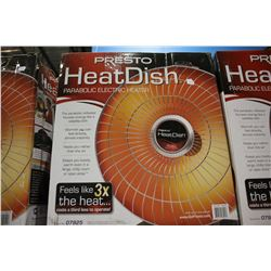 PRESTO HEATDISH PARABOLIC ELECTRIC HEATER