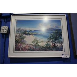 "FRAMED PRINT - ""ALOHA"" BY B.H. FREELAND"