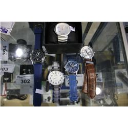 LOT OF WATCHES INCLUDING PUMA, ARMANI AND MORE