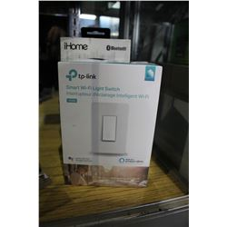 IHOME BLUETOOTH SPEAKER & SMART LIGHT SWITCH