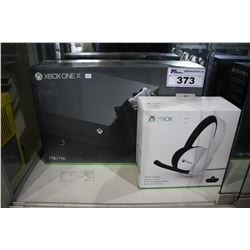 XBOX ONE 1 TB CONSOLE WITH HEADSET
