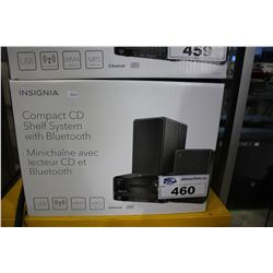 INSIGNIA COMPACT CD SHELF SYSTEM WITH BLUETOOTH