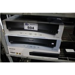 3 SONY ULTRA HD BLU RAY PLAYERS