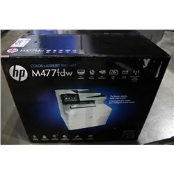 HP COLOR LASERJET PRO MFP-M477FDW ALL-IN-ONE PRINTER