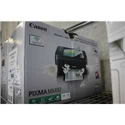 CANON PIXMA MX492 ALL-IN-ONE PRINTER
