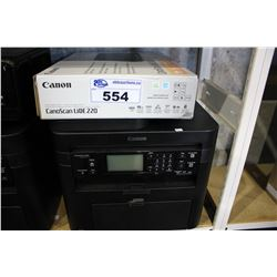 CANOSCAN LIDE 220 SCANNER & CANON IMAGECLASS MF217W ALL-IN-ONE PRINTER
