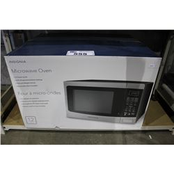 INSIGNIA 1.2 CU FT STAINLESS STEEL MICROWAVE