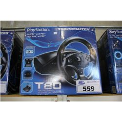 THRUSTMASTER T80 RACING WHEEL - PLAYSTATION