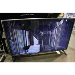 LC 47 INCH LCD TV - DAMAGED SCREEN