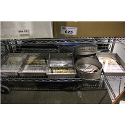 LOT OF ASSORTED KITCHENAID CAKE PANS