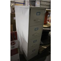 APPROX 4' FOUR DRAWER FILE CABINET