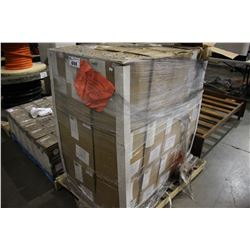 PALLET OF PLASTIC LUMBER LABEL/STRAPPING - 90 ROLLS