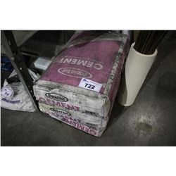 THREE BAGS OF RAPID SET CEMENT