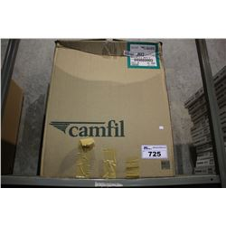 BOX OF CAMFILL FARR 30/30 MERV 8 HIGH-CAPACITY PLEATED PANEL FILTERS (12)