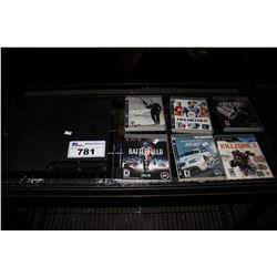 PLAYSTATION 3 CONSOLE WITH 6 GAMES - BATTLEFIELD 3, FIFA SOCCER 10, NFS SHIFT, COD BLACK OPS II,