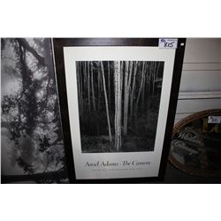 FRAMED PRINT - ANSEL ADAMS THE CAMERA