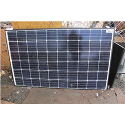 2 SOLAR PANELS (DAMAGED)