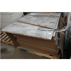 PALLET OF ASSORTED STORE DISPLAY BOARD