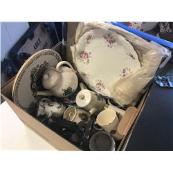 BOX LOT ASSORTED ROYAL FAMILY & CORONATION COLLECTIBLES