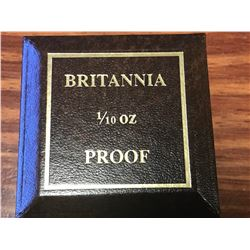 BRITANNIA 1/10 OZ. GOLD COIN