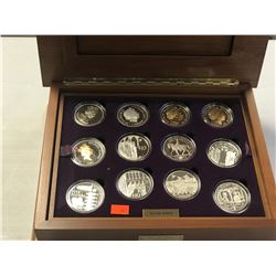 CASED GOLDEN JUBILEE COIN COLLECTION