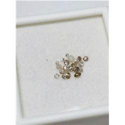 GENUINE DIAMOND (APPROX  (0.5CT) GEMSTONES