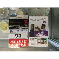 WALABOT DIY DEVICE & ASSORTED SD/MICRO SD CARDS